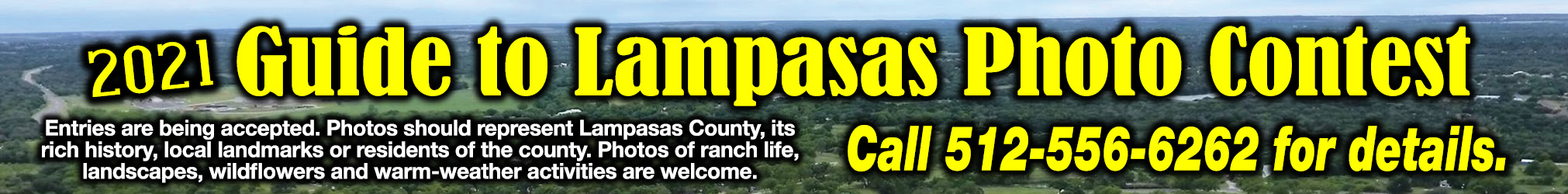 2021 Guide to Lampasas Photo Contest Ad
