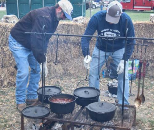 A chili cookoff has been one of many Diamondback Jubilee activities in the past. The festival in Lometa has been canceled this year, however, as it was in 2020. FILE PHOTO